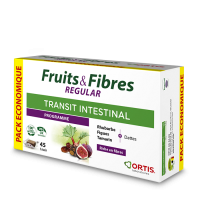 ORTIS - Fruits & Fibres REGULAR (ECOPACK 45 cubes)