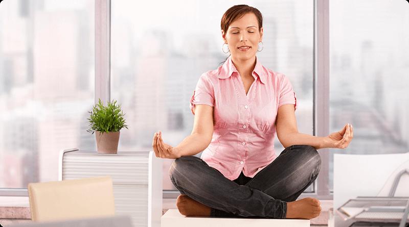 Combattre le stress: yoga, méditation