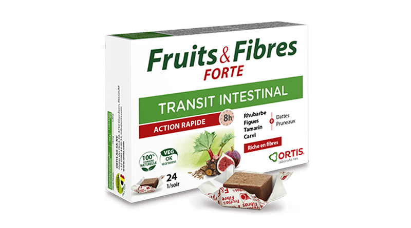 Fruits&Fibres FORTE, plants for fast action on your transit