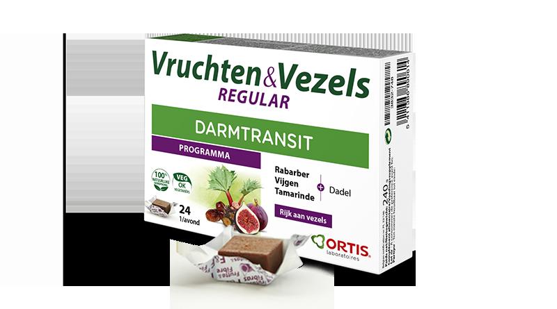 Vruchten&Vezels REGULAR planten om de doorvoer soepel te reguleren