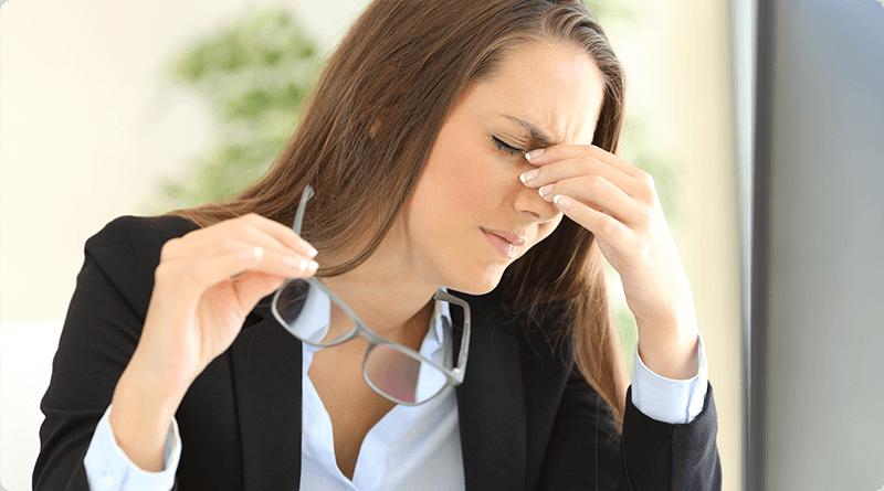 Fatigue: stress, manque de sommeil